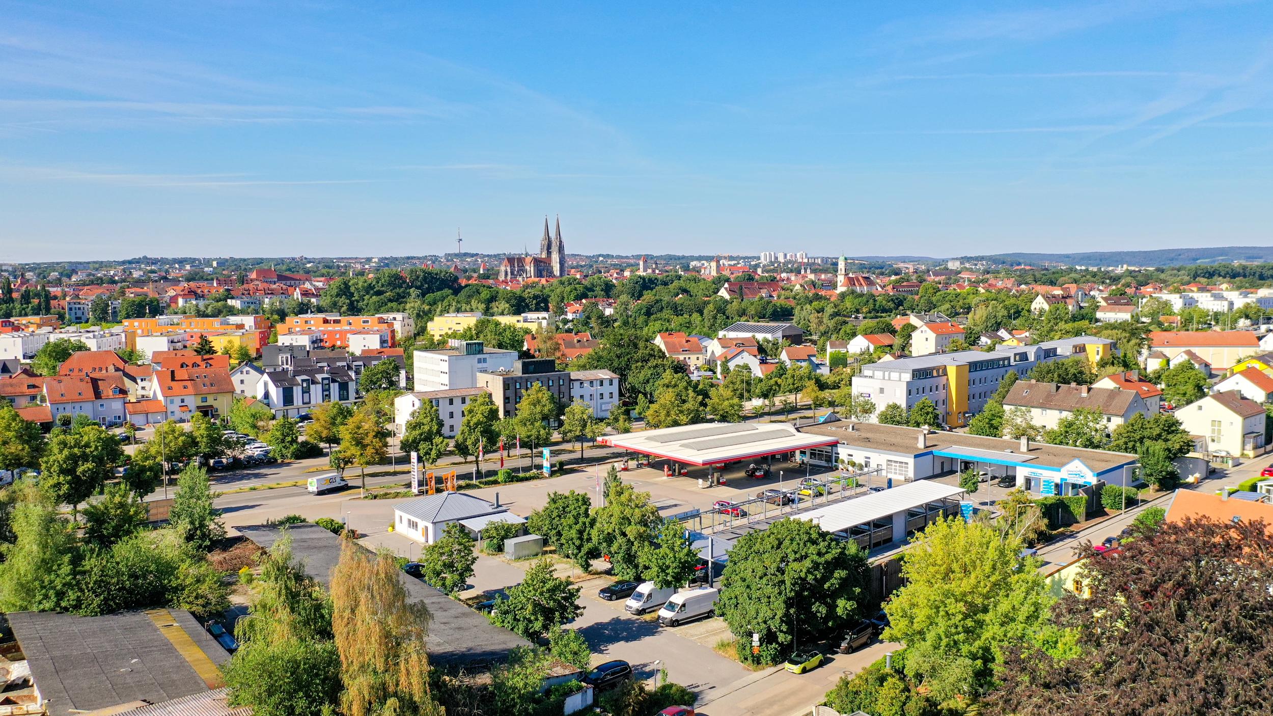Luftbilder Regensburg Dom