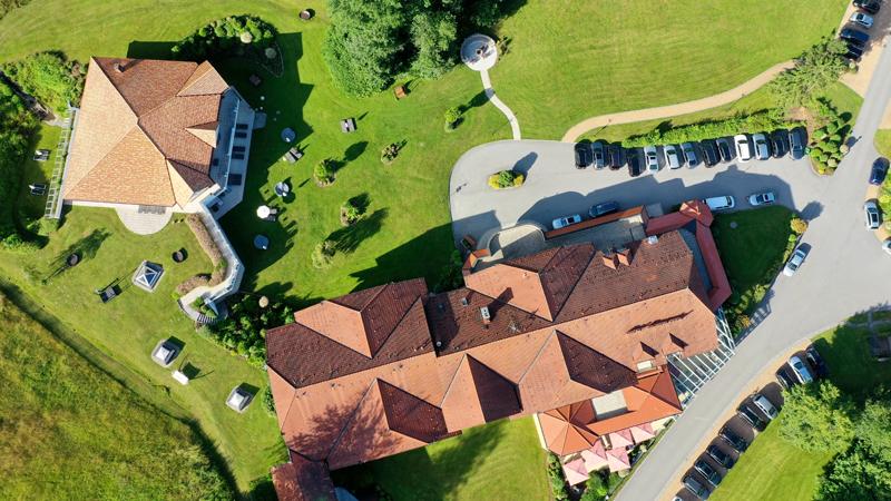 Wellnesshotel Hammerhof Luftaufnahme