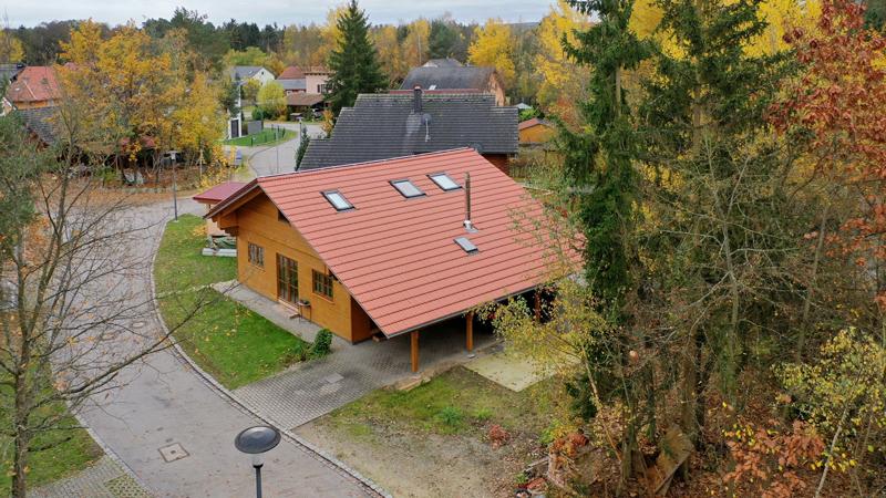Drohnenbild Seehaus Brückelsee