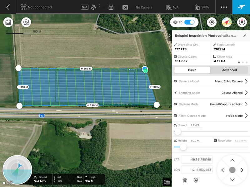 Inspektionsflüge mit Drohnen Luftbilder, Videos